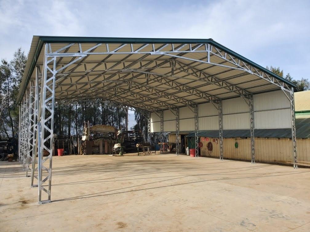 Steel Carports Garages Sheds More American Carports Inc