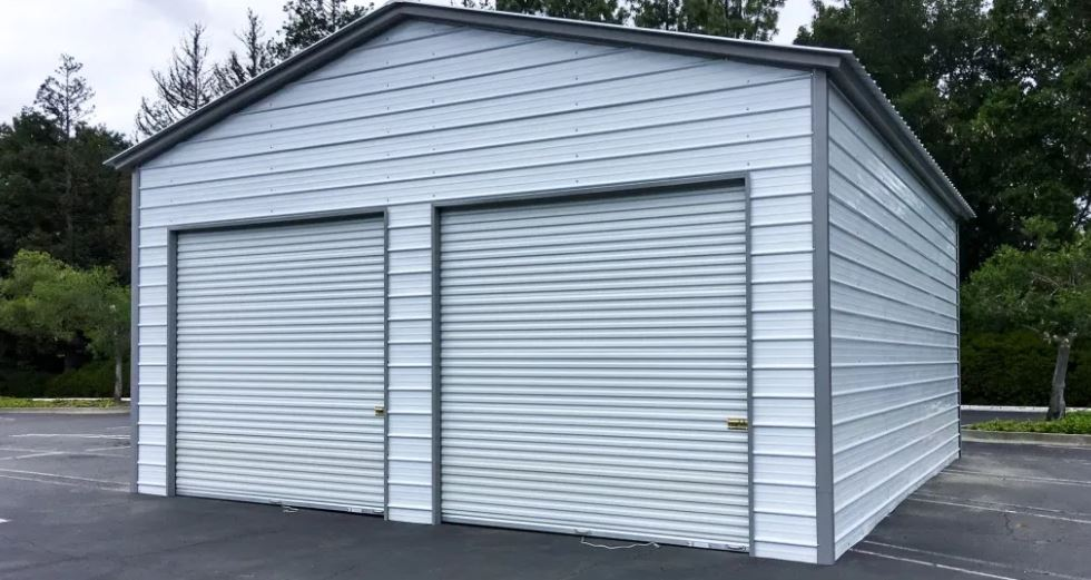 Metal Motorcycle Storage Sheds From American Carports Inc